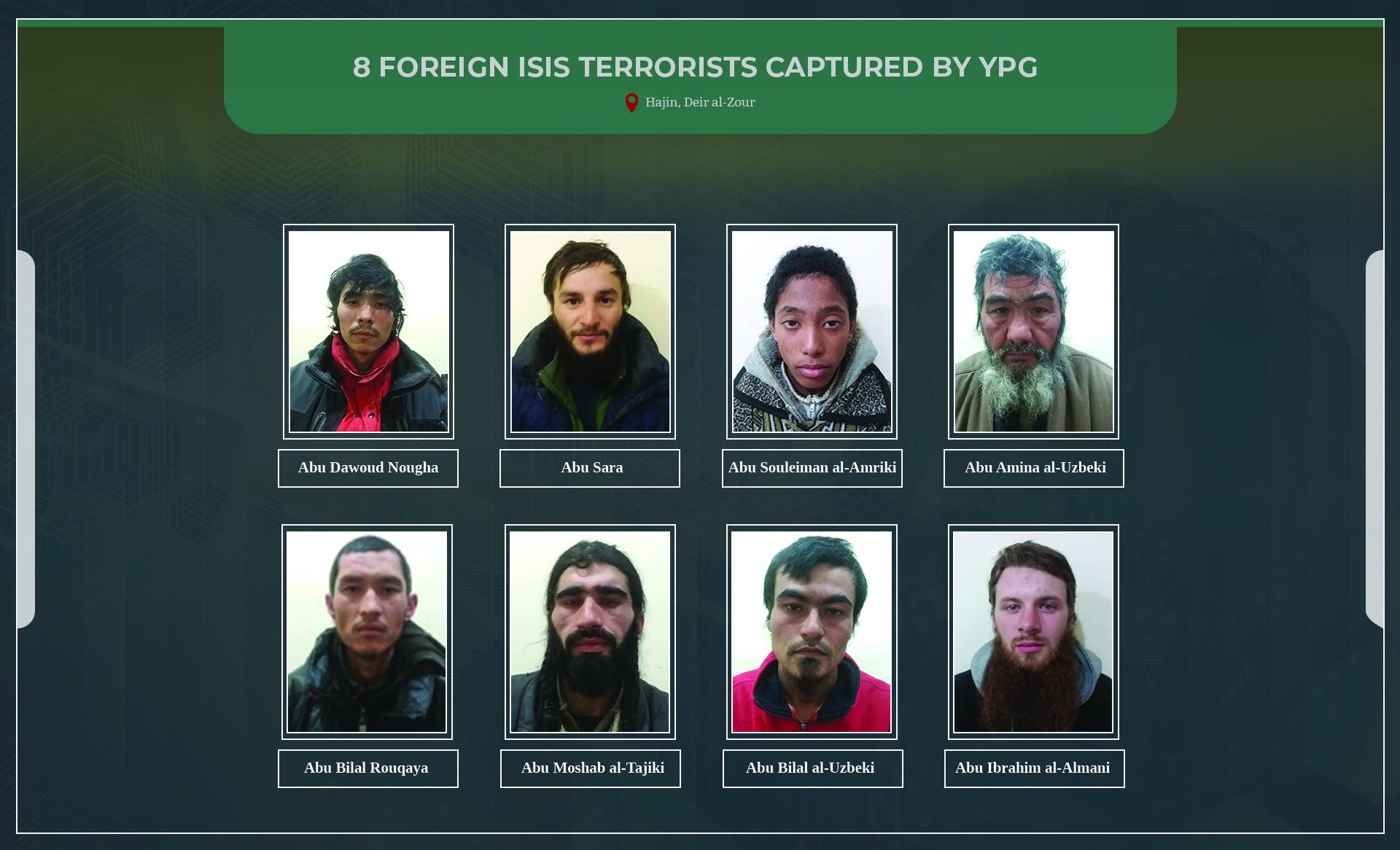 """YPG: Среди захваченных в Сирии """"боевиков ИГ"""" - гражданин Украины"""