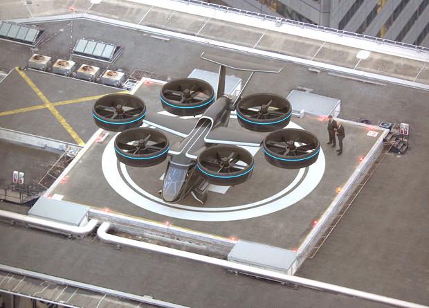 Аэротакси, робопсы-курьеры, китайский стелс: новости технологий