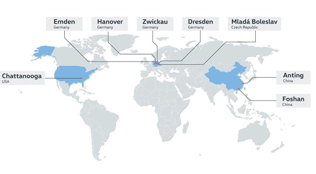 Volkswagen вложит сотни миллионов в производство электрокаров