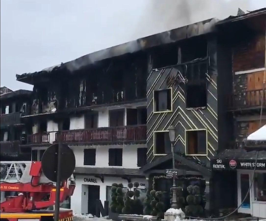 Во Франции горел курорт Куршевель: есть погибшие - фото, видео