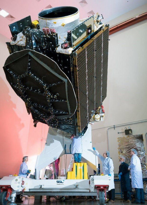 SpaceX запускает на Луну космический аппарат Израиля: трансляция