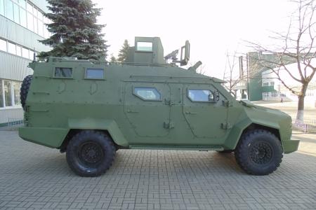 Корпорация Богдан будет поставлять армии Барс-8: фото