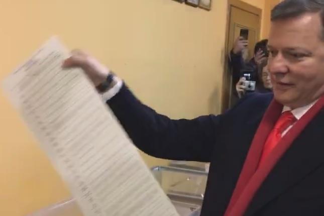 Аваков сказал, как МВД отреагировало на выходку Ляшко