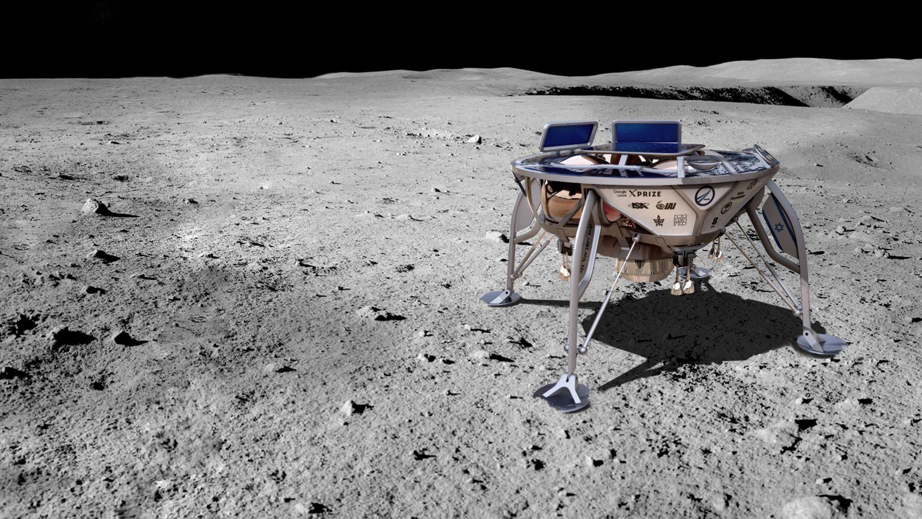 Израильский аппарат «Берешит» разбился при посадке наЛуну