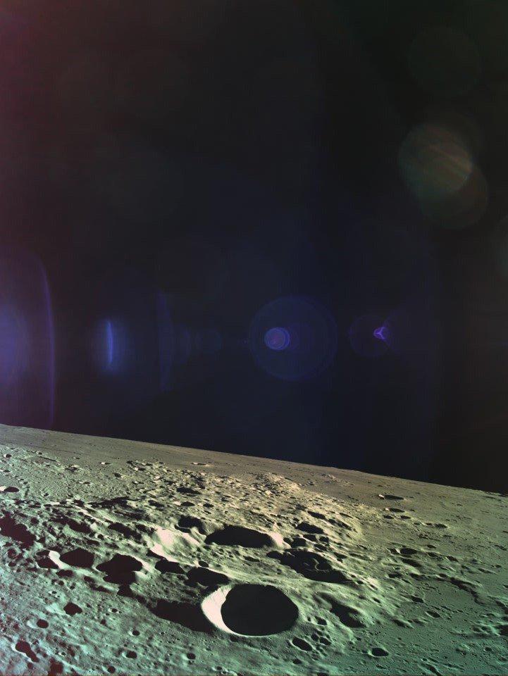Последнее, что увидел разбившийся на Луне израильский зонд: фото