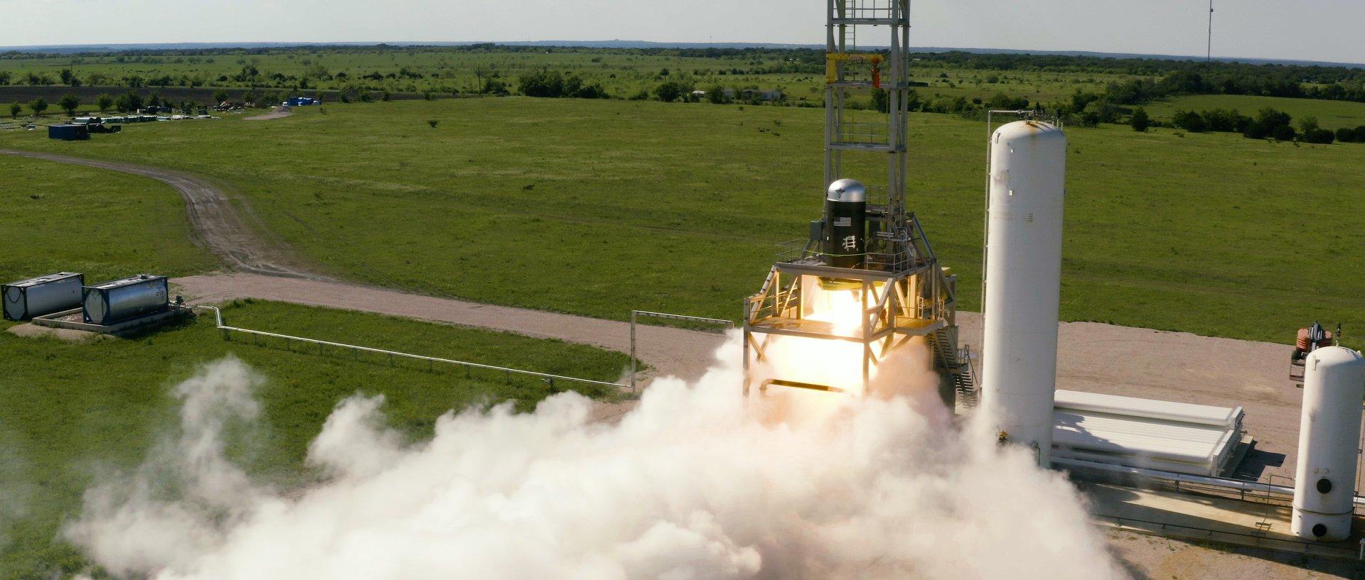 В США испытали ступень украинско-американской ракеты: видео