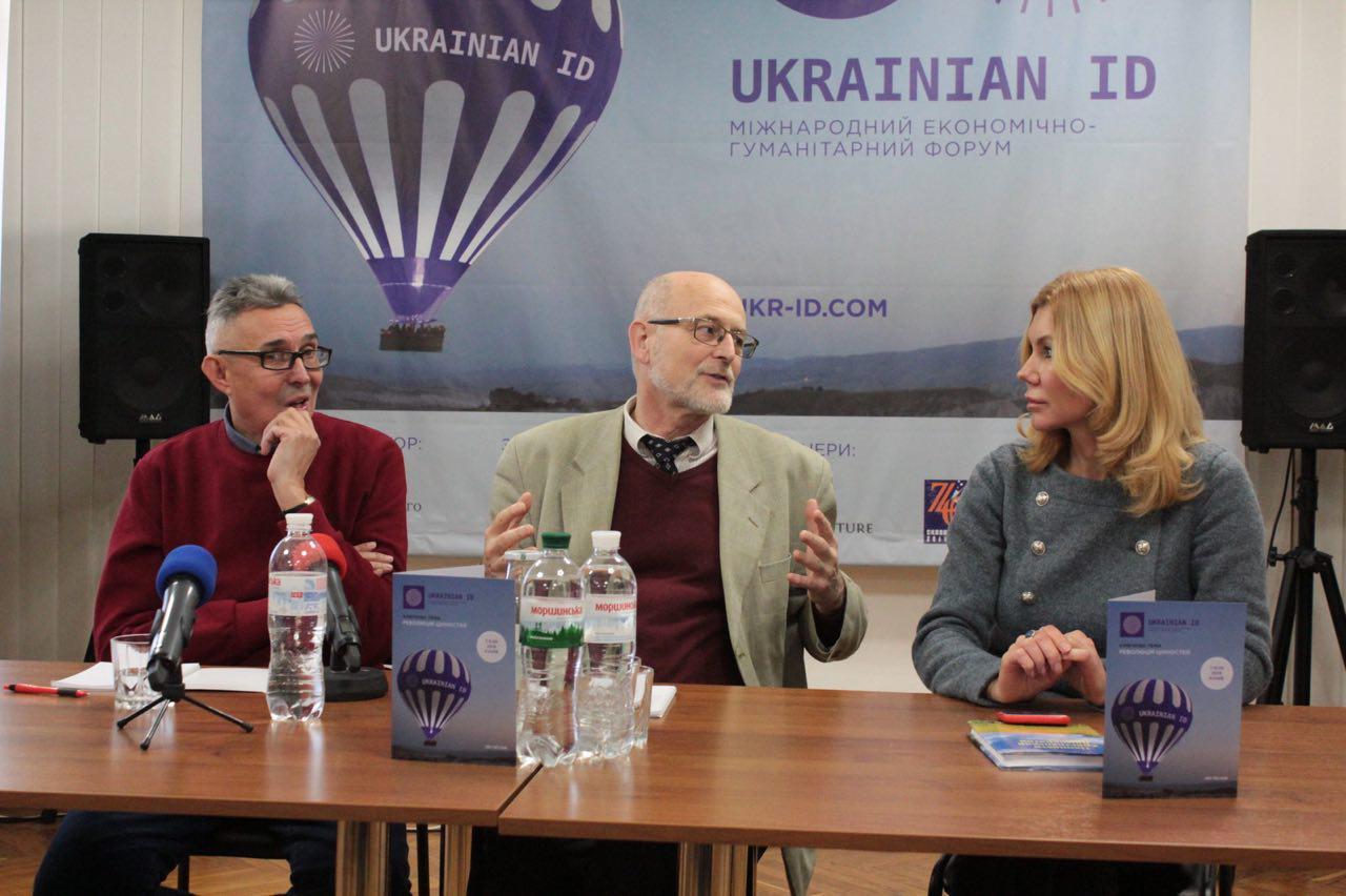 Норберт Нойхауз на Международном форуме Ukrainian ID. Фото: Ukrainian ID