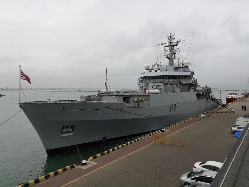В Одессу прибыл корабль ВМС Британии: фото