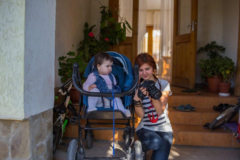 Наджие Мустафаева и Александра Ефименко (Фото Эскендера Ганиева)