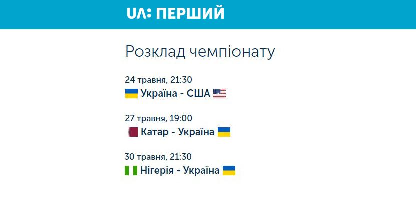 В Украине покажут юношеский чемпионат мира по футболу