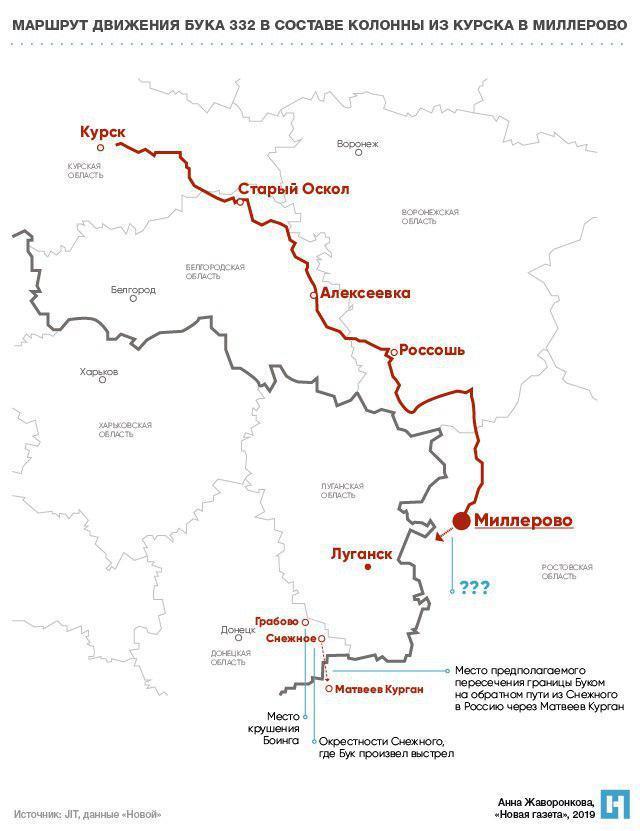 Дело МН17: есть новые документы по российскому ЗРК Бук в Донбассе