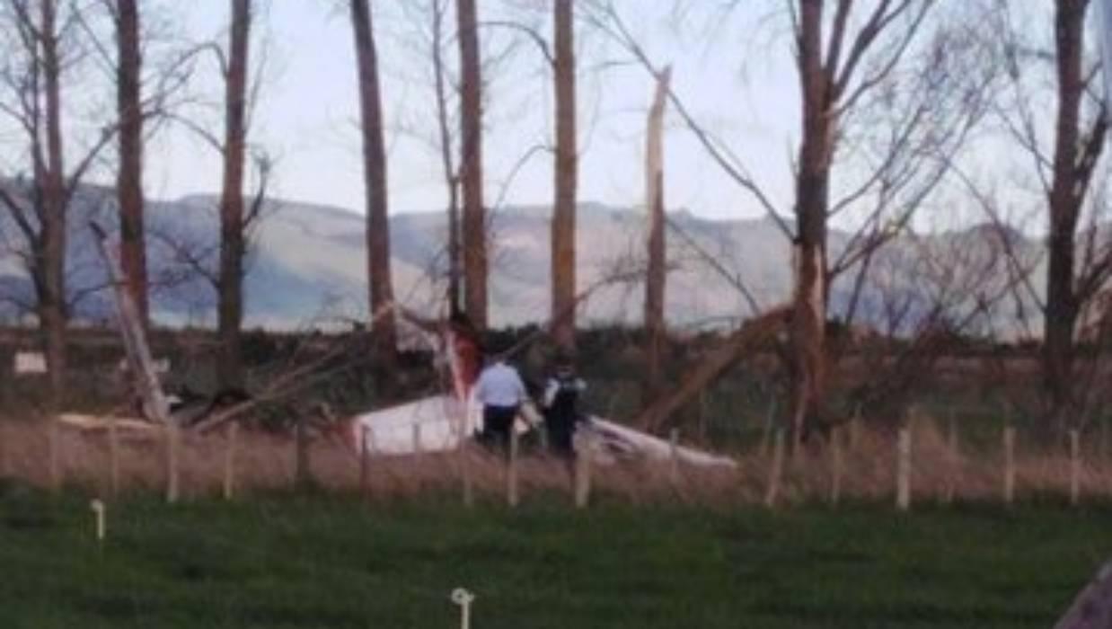 В Новой Зеландии в воздухе столкнулись самолеты: фото