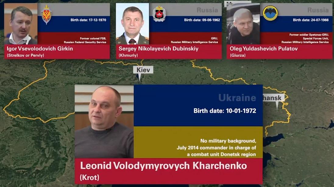 Падение MH17. Названы подозреваемые - трое россиян и украинец
