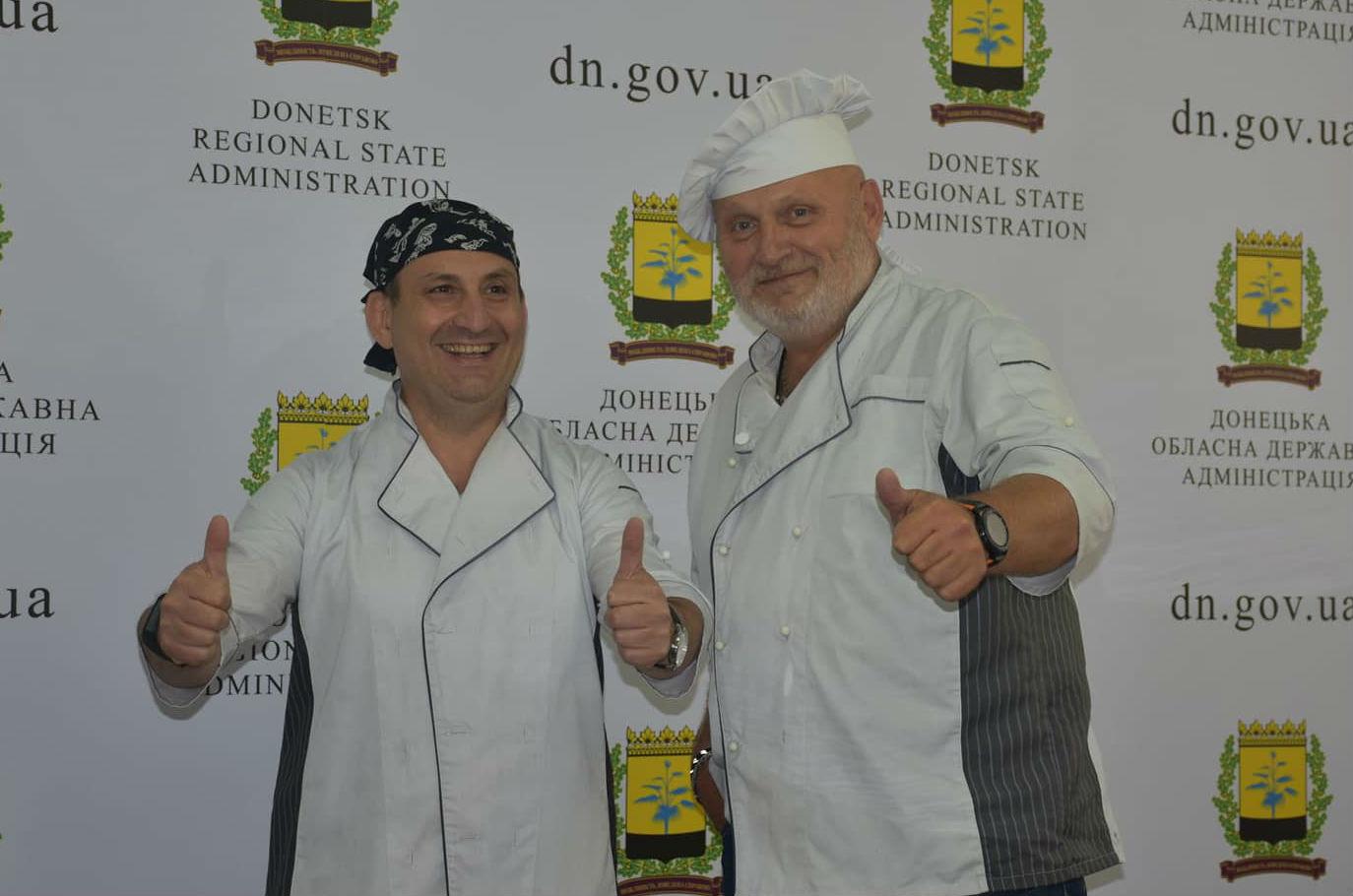 Евгений Вилинский (слева) и Игорь Стокоз (справа) приехали работать в Донбасс, чтобы восстановить регион (Фото из личного архива)