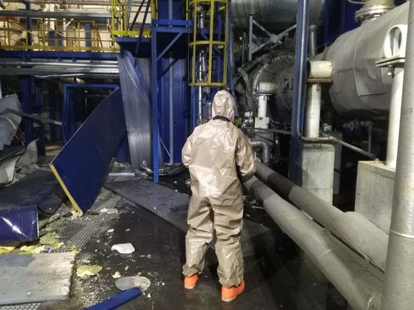 В Турции произошел взрыв на заводе химикатов: фото