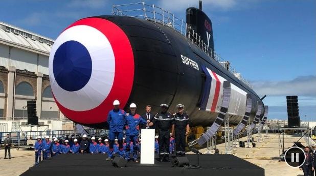 Во Франции показали атомную подлодку нового поколения: фото