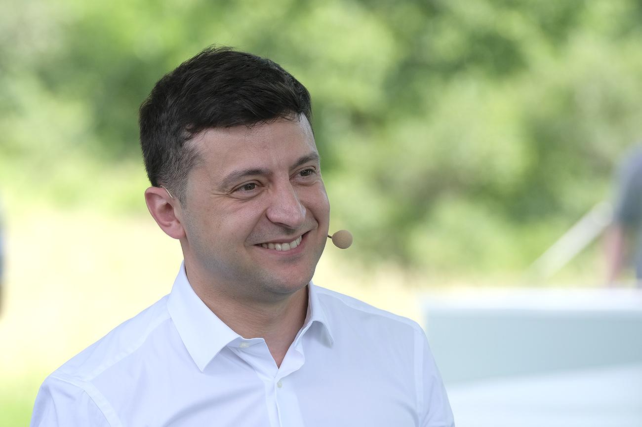 Владимир Зеленский (фото - Андрей Гудзенко/LIGA.net)