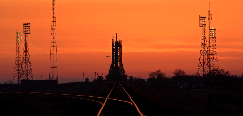Американец, итальянец и россиянин летят в космос: трансляция
