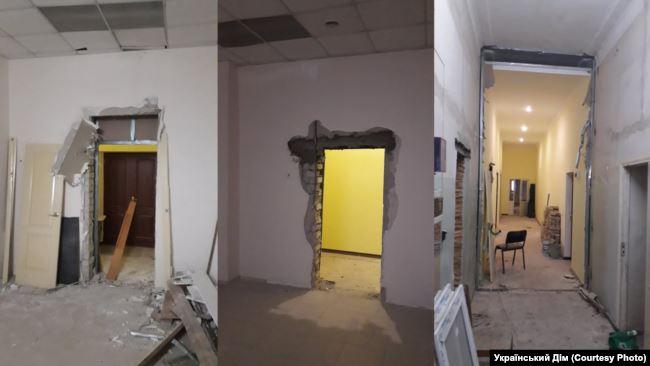 В Симферополе разграбили имущество собора ПЦУ: фото