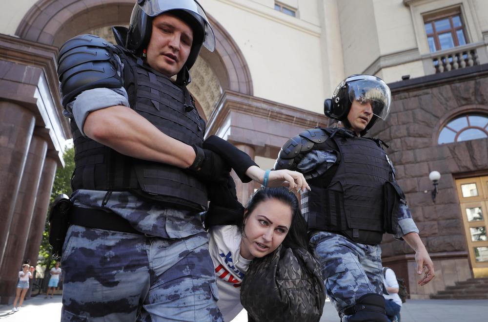 Картинки по запросу протесты в Москве - фото