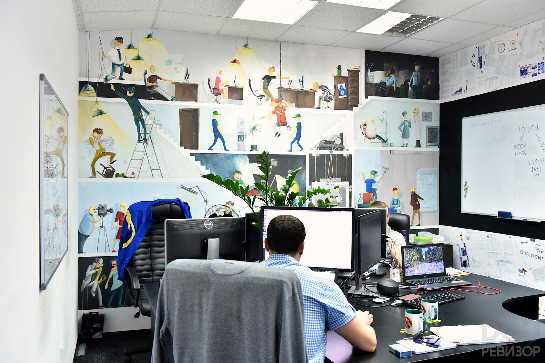 Офис Genesis, фото - DOU Ревизор