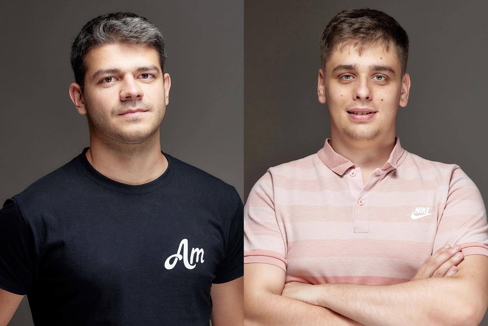 Артур Маркарян и Дмитрий Смирнов, CEO и сооснователи AmoMedia, фото - личный архив AmoMedia