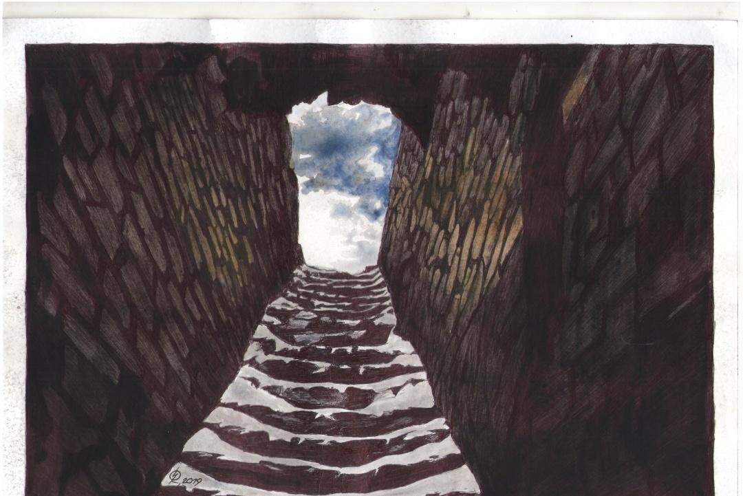 Ручка и акварель. Сущенко показал атмосферу тюрьмы РФ - фото