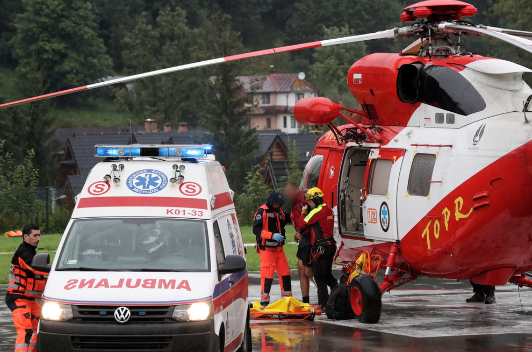Впольских Татрах несколько туристов погибли из-за ударов молний