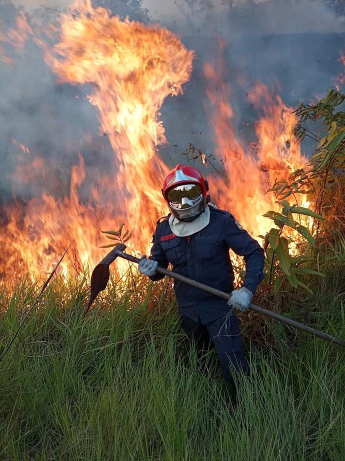 """""""Это хаос"""". Президент Бразилии - о массовых пожарах в Амазонке"""