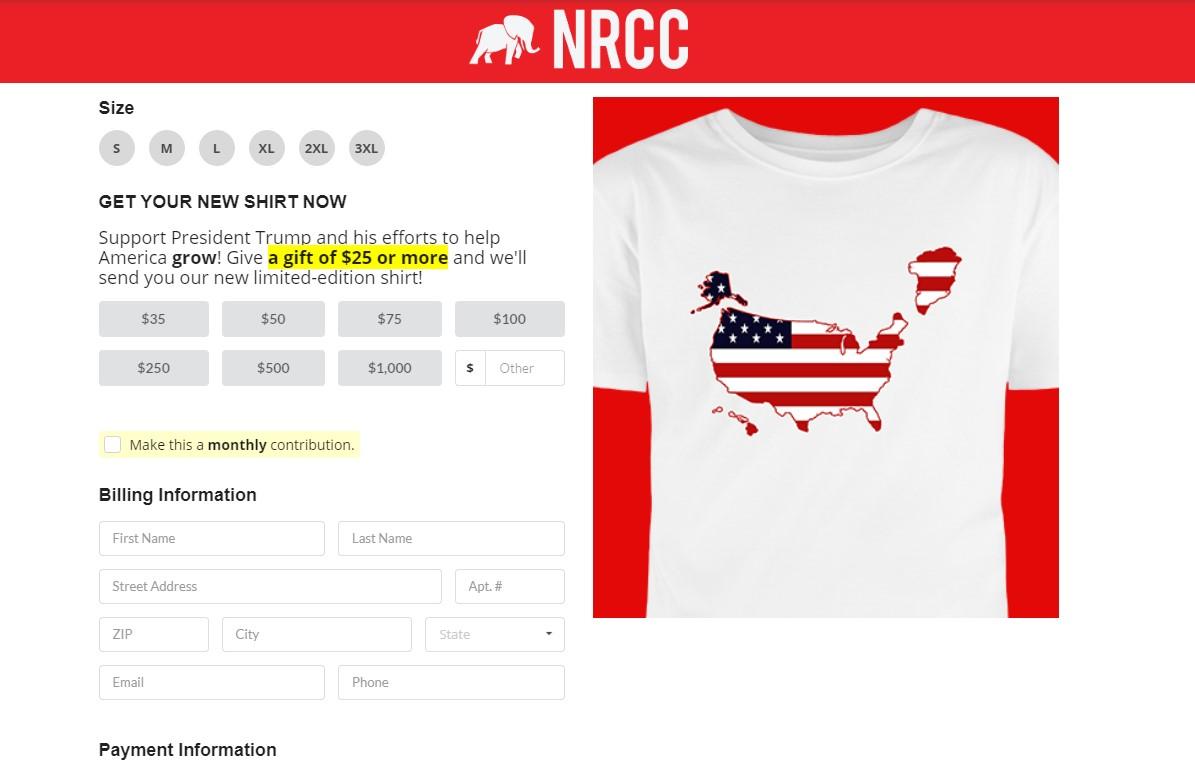 Республиканцы продают футболки с Гренландией в составе США: фото