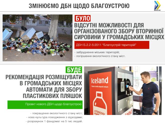 На улицах могут появиться автоматы для сбора пластиковых бутылок
