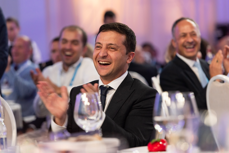 Владимир Зеленский, фото: пресс-служба YES