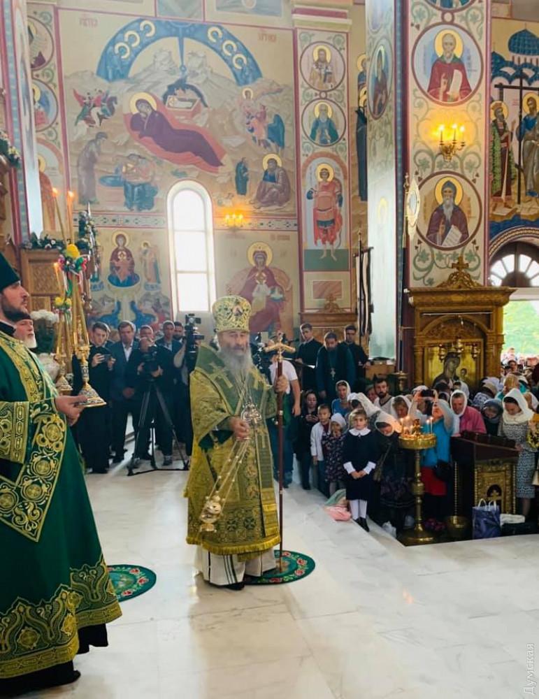 Глава УПЦ Московского патриархата прибыл в Одессу: фото