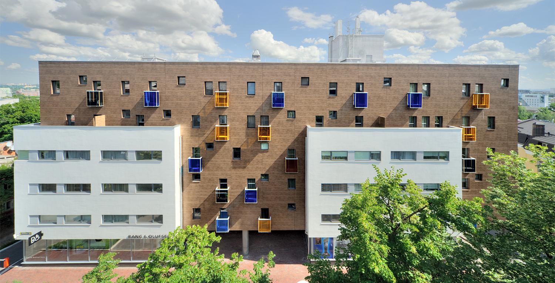 Многоквартирный жилой дом в Харькове, спроектированный командой Дроздова, Фото: Drozdov&Partners