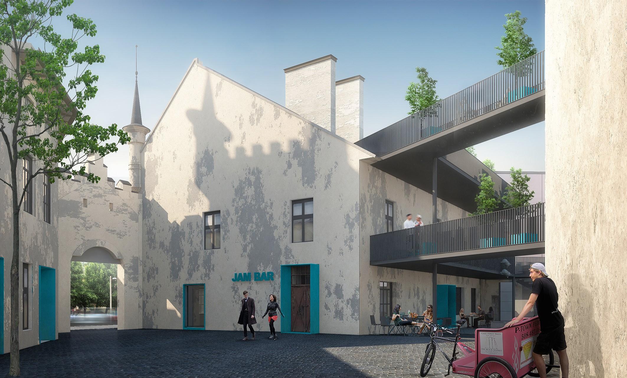 Культурний центр Jam Factory, спроектированный Дроздовым, фото: Drozdov&Partners