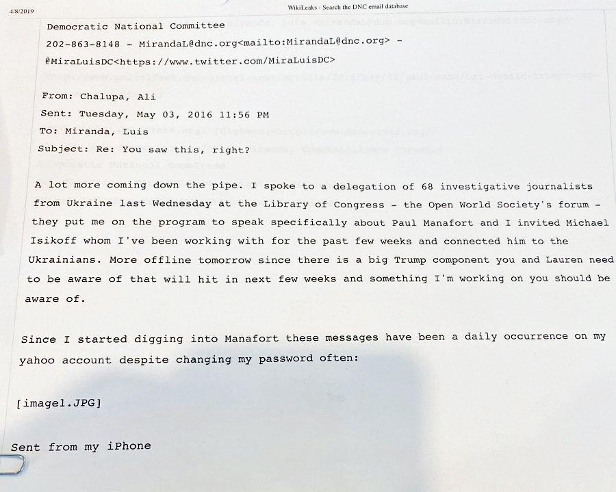 """Джулиани выложил """"доказательство"""", как Киев влиял на выборы в США"""
