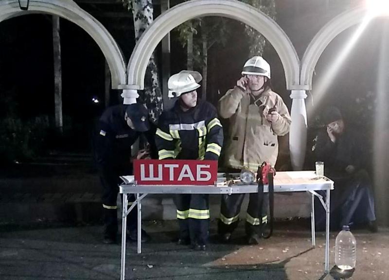 На территории мужского монастыря в Одессе произошел пожар: фото