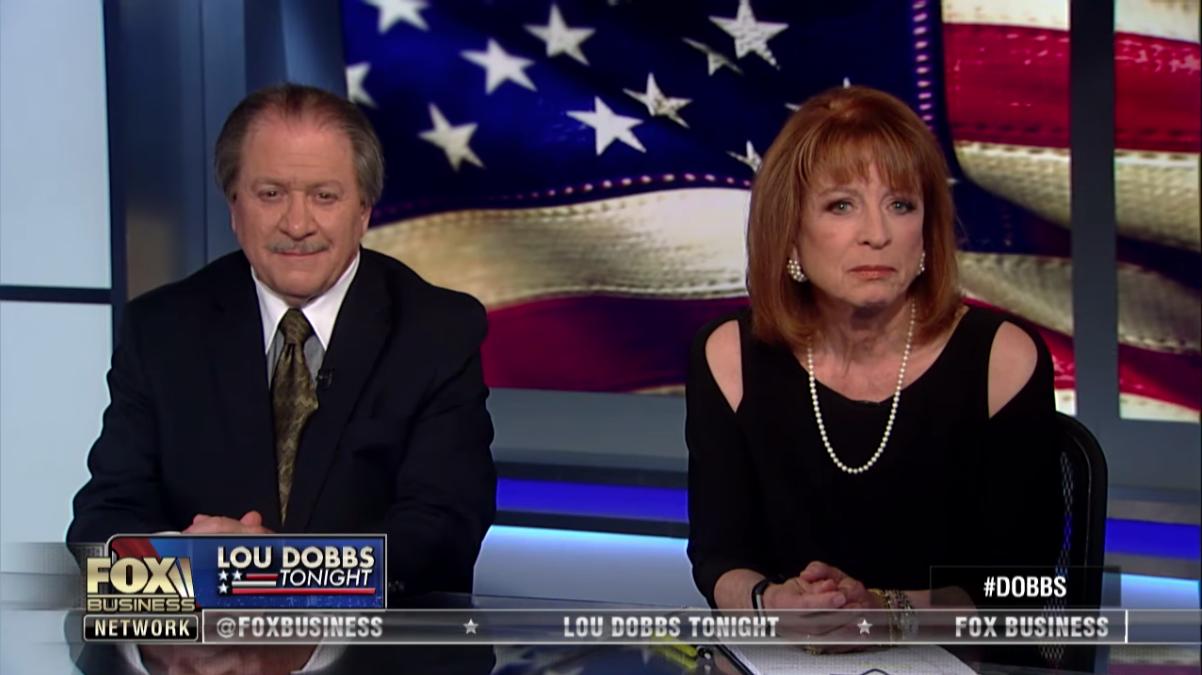 Виктория Тенсинг и Джозеф ДиГенова Фото: скриншот передачи Fox Business