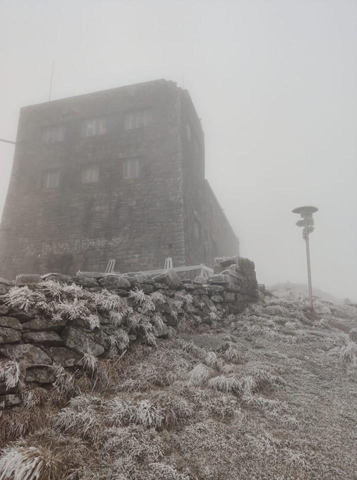 Зима не за горами. В Карпатах – восемь градусов мороза: фото