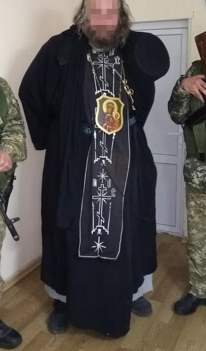 Пограничники задержали нарушителя в рясе из базы Интерпола: фото