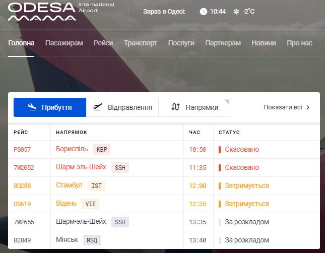 ЧП с самолетом Turkish Airlines в Одессе. Подробности