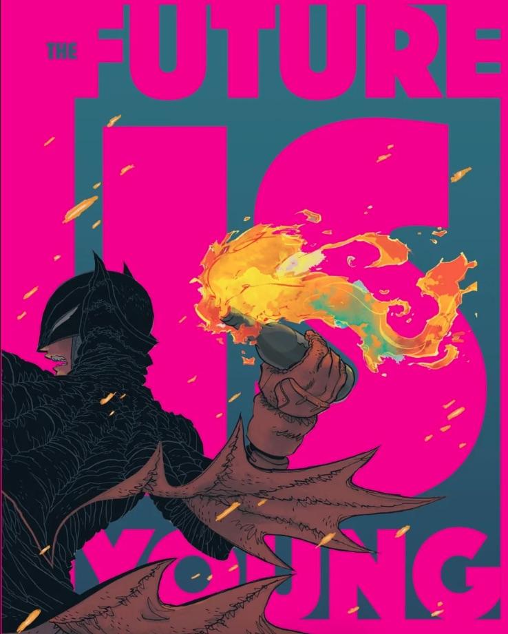 Гонконг. Китайцы вынудили DC удалить постер к комиксу о Бэтмене