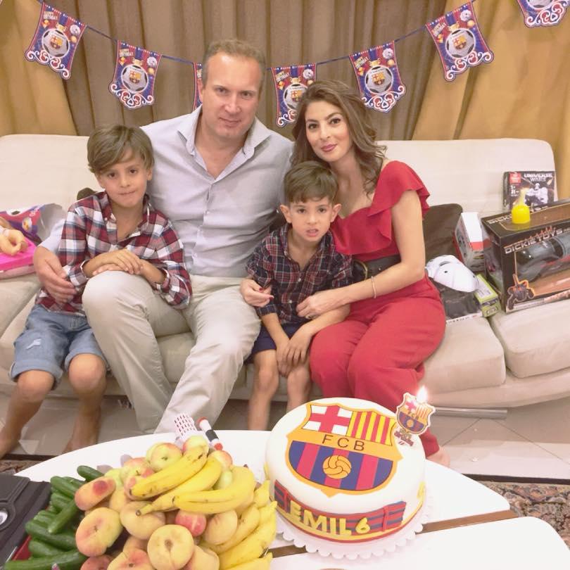 Семья Линдберг Фото: Facebook raheleh.salmani