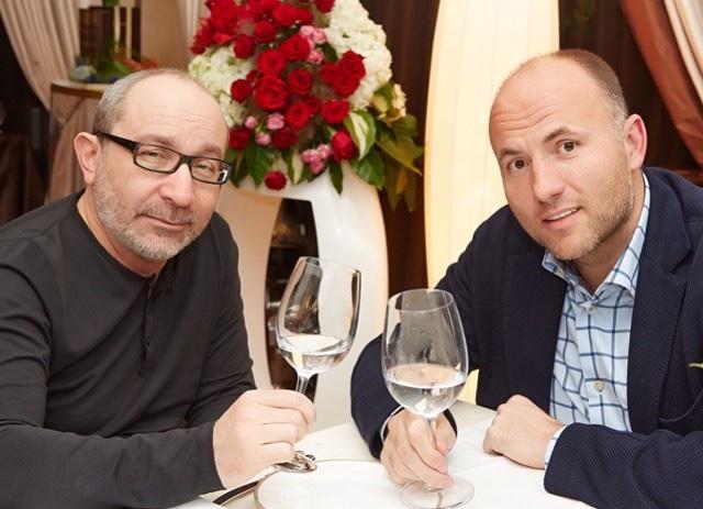 Геннадий Кернес и Павел Фукс (фото - Instagram Кернеса)