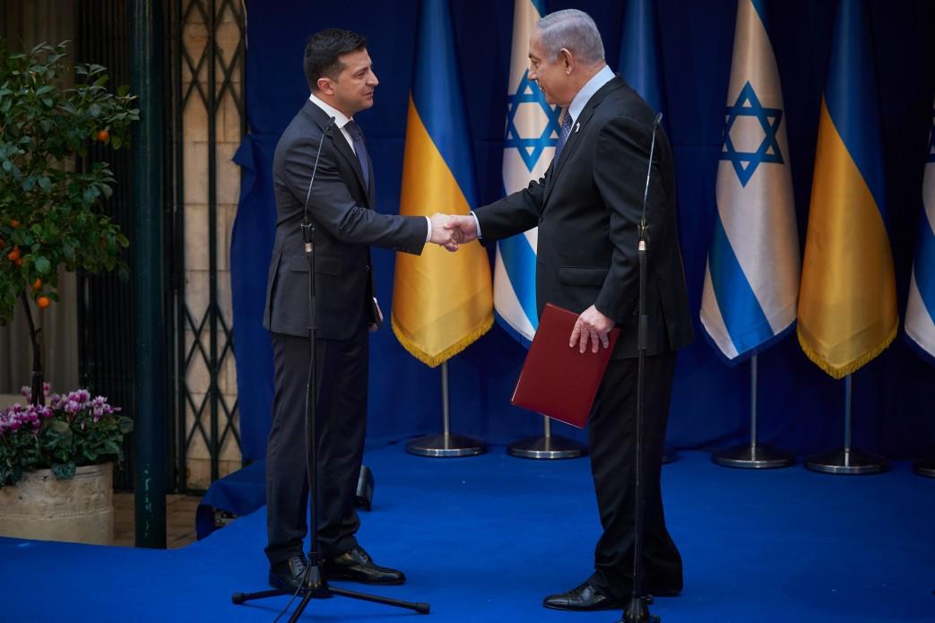 Зеленський нагадав Нетаньягу про відмови на в'їзд українцям