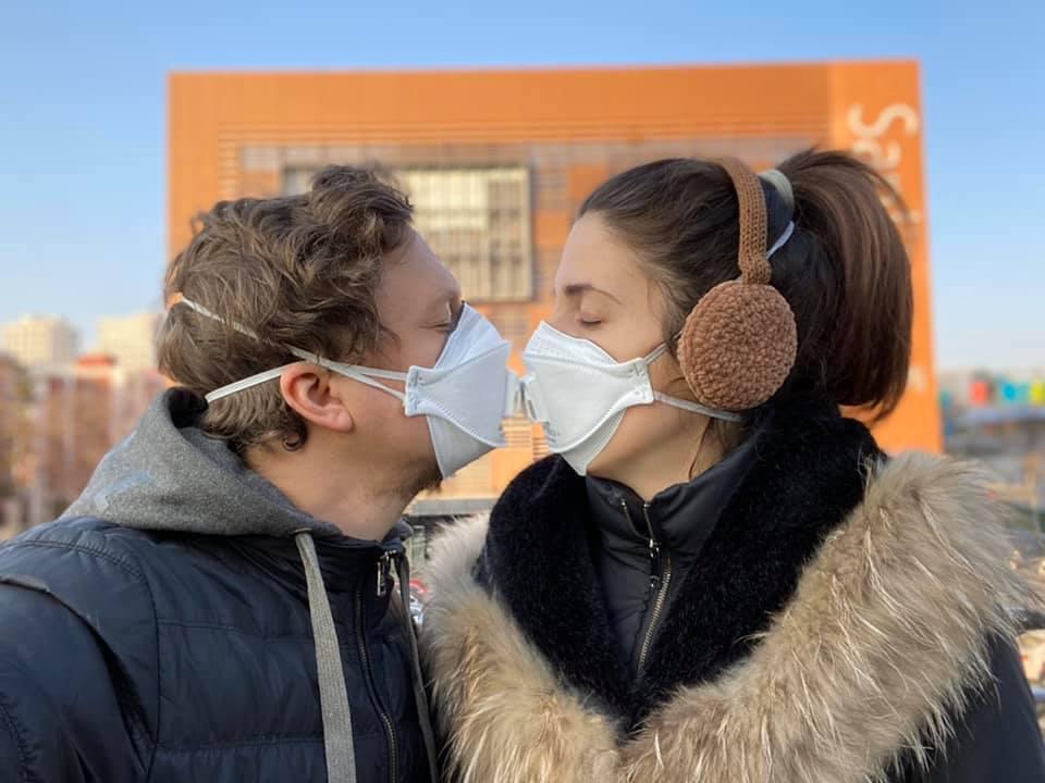 Сергей Пудич с женой Лаурой, фото: личный архив Сергея Пудича