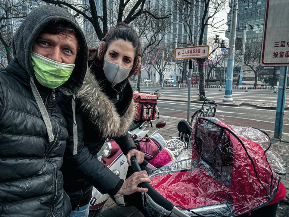 Сергей Пудич с семьей, Пекин  фото: личный архив Сергея Пудича