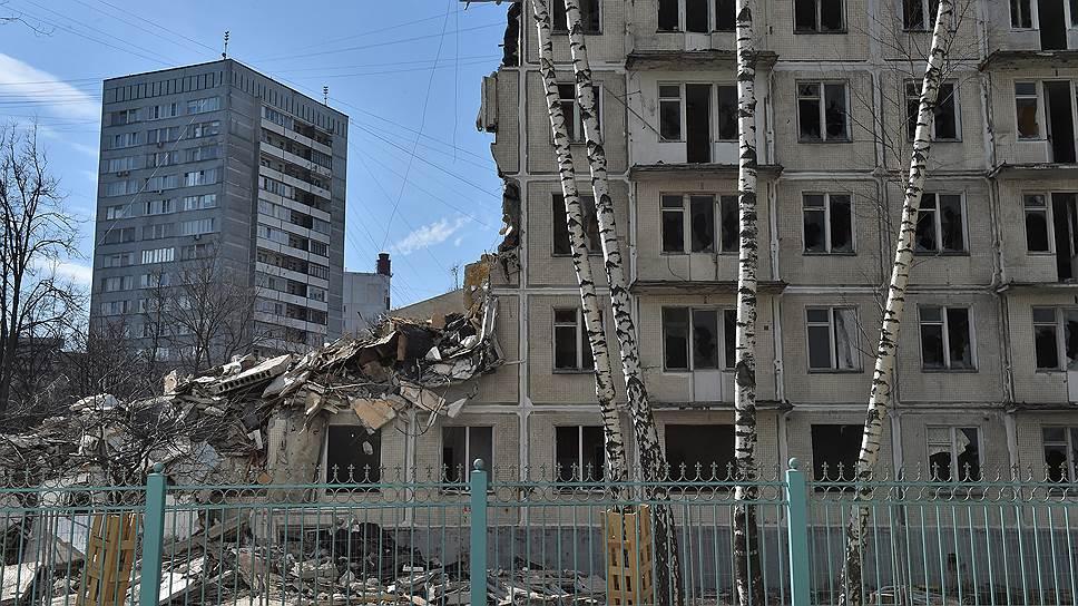 Московские хрущевки, фото:Строймос. ру