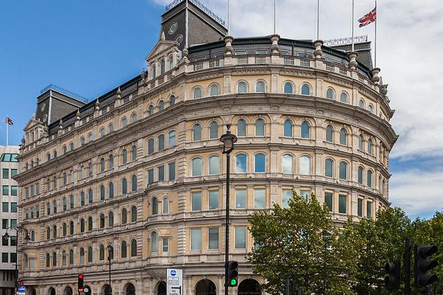 Grand Buildings на Трафальгарской площади, фото: Wikipedia.com