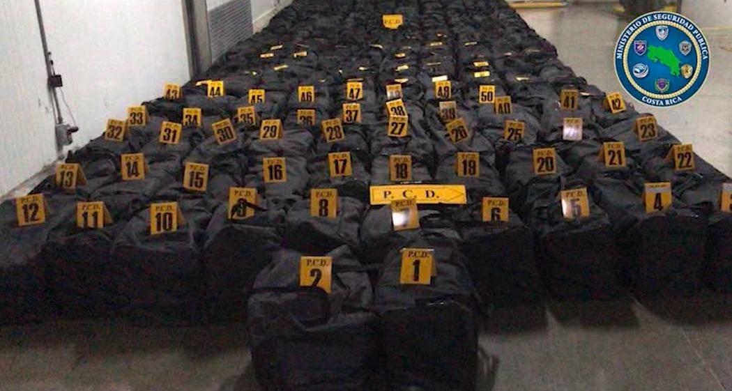 В Коста-Рике изъяли пять тонн кокаина. Направлялся в Нидерланды